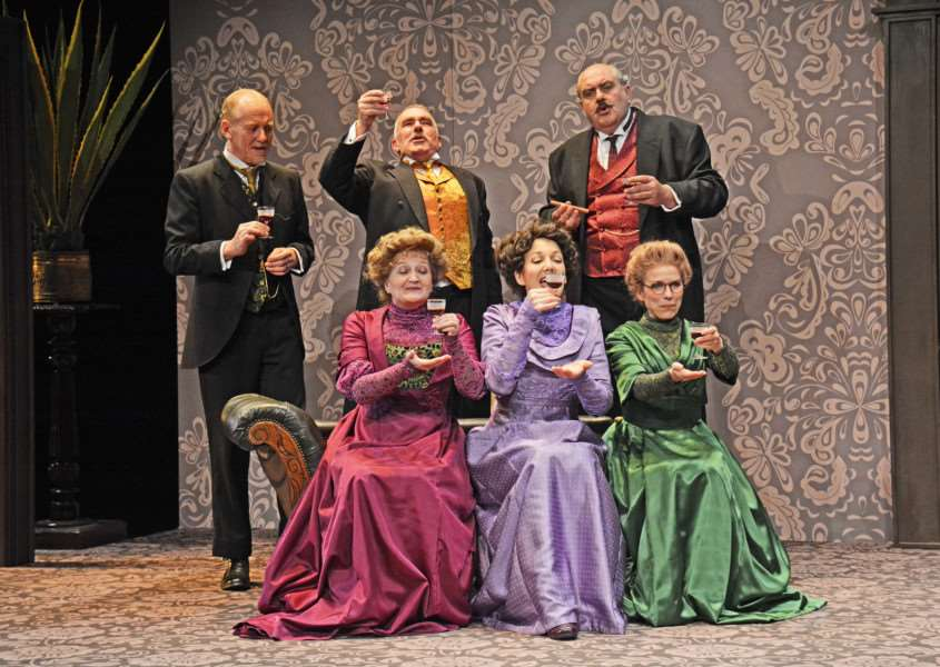 The cast of When We Are Married by J B Priestley. Picture by Nobby Clark. 'nobby@nobbyclark.co.uk ANL-160921-124500001