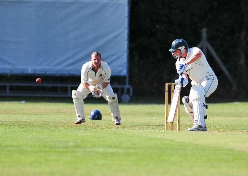 Haverhill cricket club player and groundsman captains his first game on his 38th birthday. ANL-150719-194437009