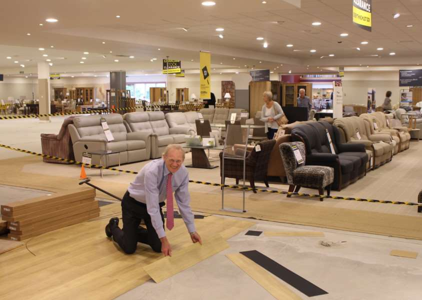 Paul Glasswell lends a hand with the revamp