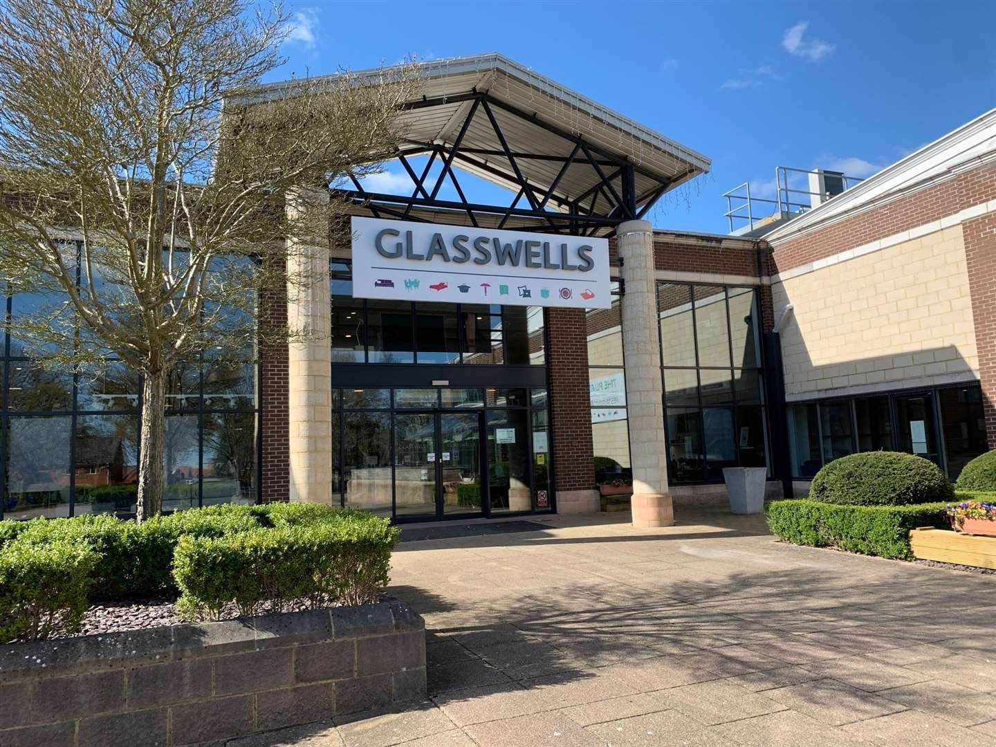 The Glasswells shop, in Bury St Edmunds, has received a £250,000 investment
