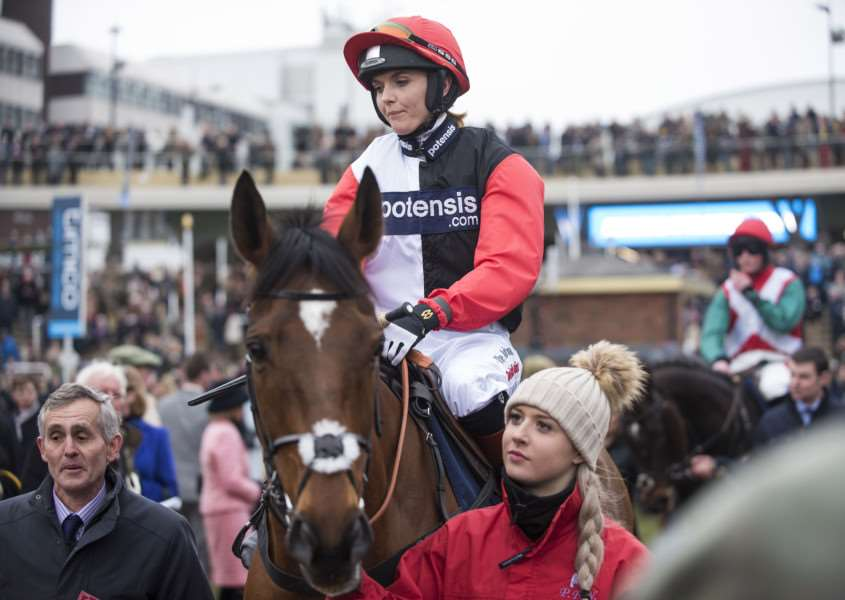 AINTREE NO-GO: Despite impressing at the recent Cheltenham Festival, Victoria Pendleton says that she will not race at the upcoming Grand National meeting.