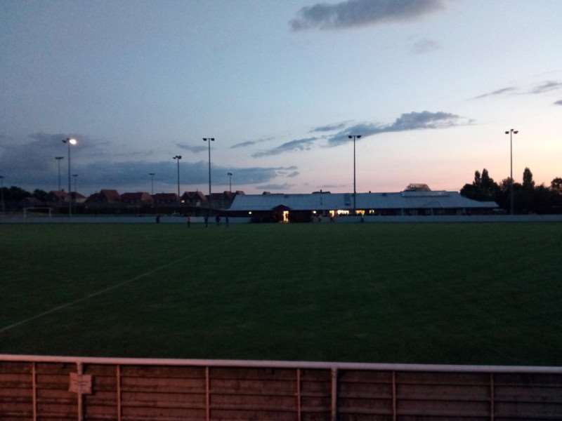 The lights went out at Park Drive at half-time, meaning AFC Sudbury's game at Maldon & Tiptree had to be abandoned