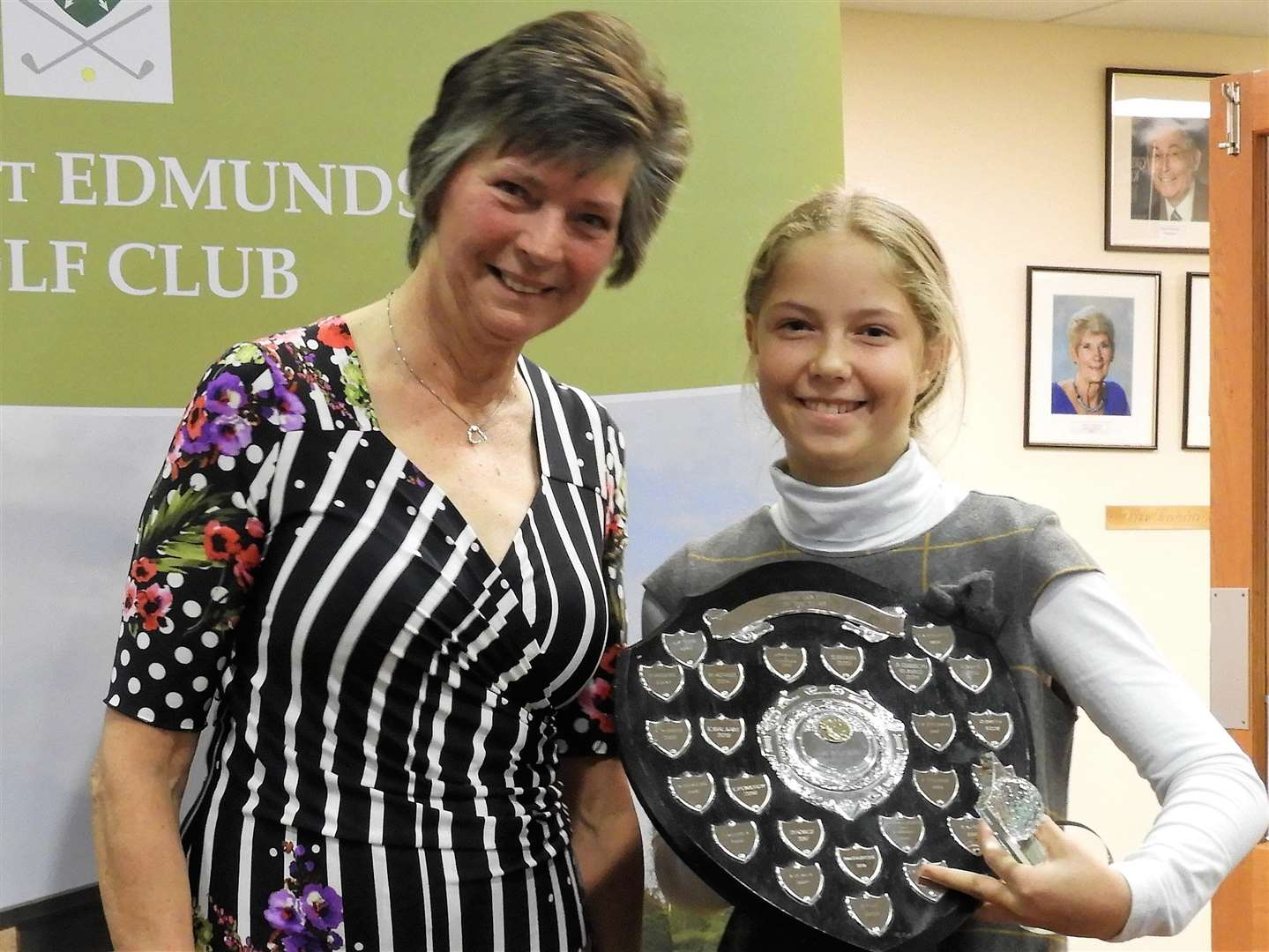 Junior Golfer of the Year (Bury GC) and Junior Improver of the Year (Suffolk County) Sophie Kubitzek - photo Contributed by Sandra Standard (7175395)