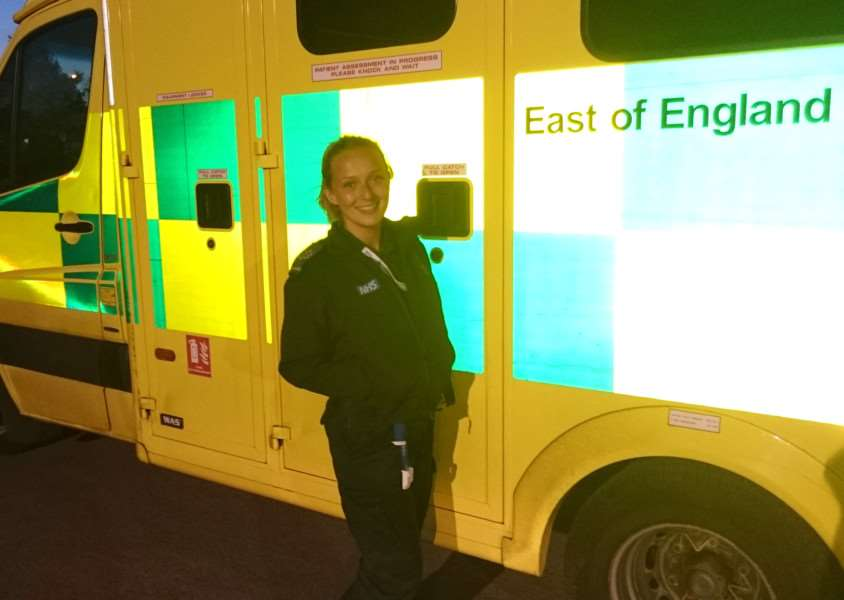 GRANTING WISHES: Paramedic Hannah Schumann's ball will raise funds to help grant wishes to the terminally ill