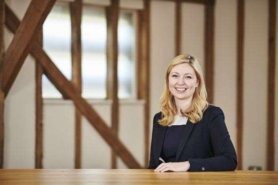 Eve Hopley, Fiscale's new R&D tax manager. Contributed picture
