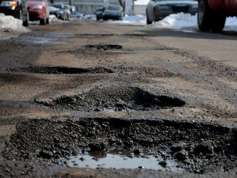 The race is on to fix Suffolk's potholes, with 20 identified for repair in Newmarket.