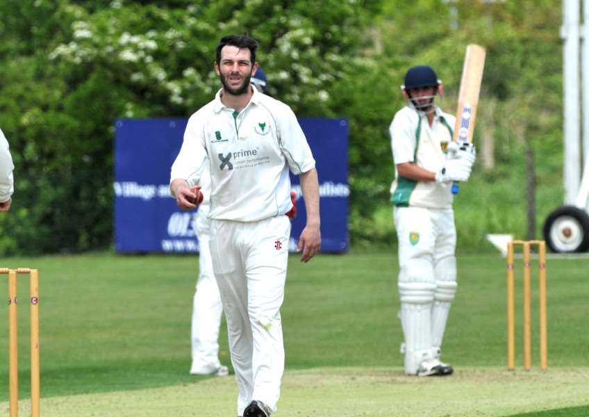 LOOKING AHEAD: Woolpit captain Craig Estlea is hoping the club can take inspiration from Sudbury's promotion back to the Premier League last season ahead of their return to the Two Counties Championship next year