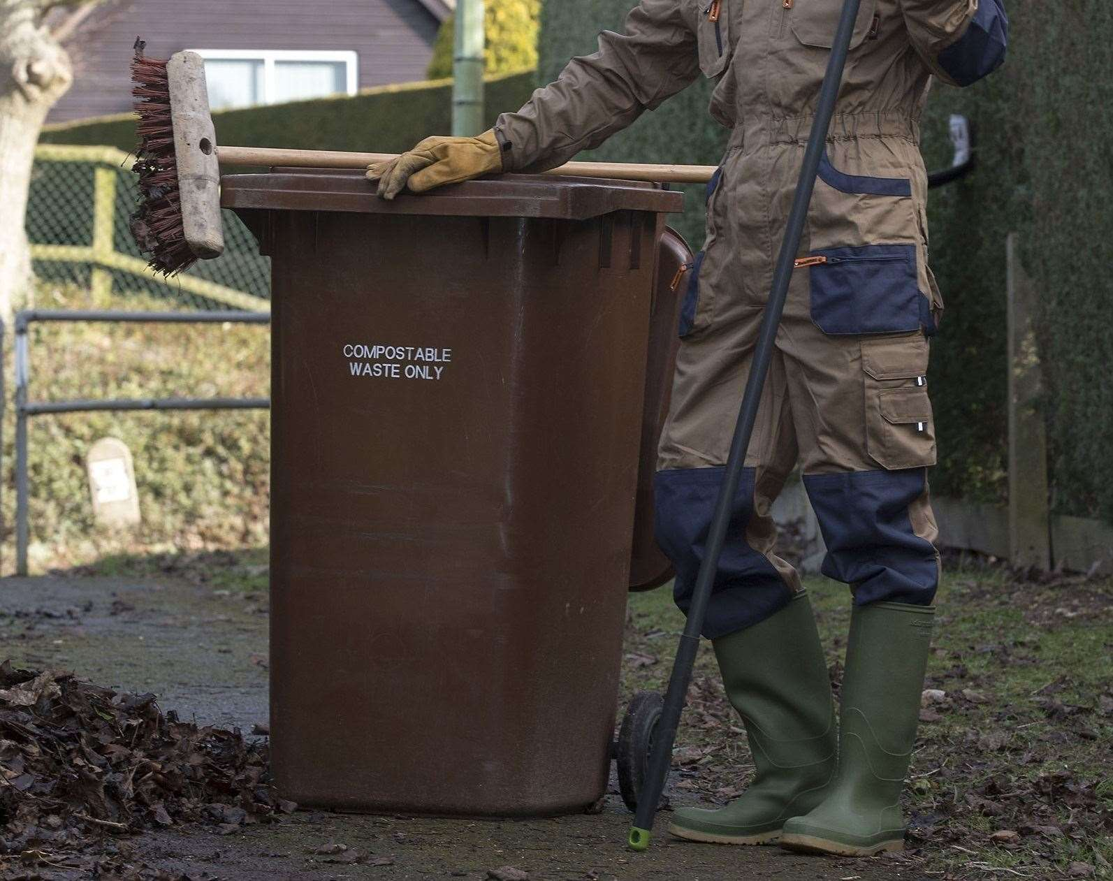 Brown bin collections are being suspended across the Newmarket area