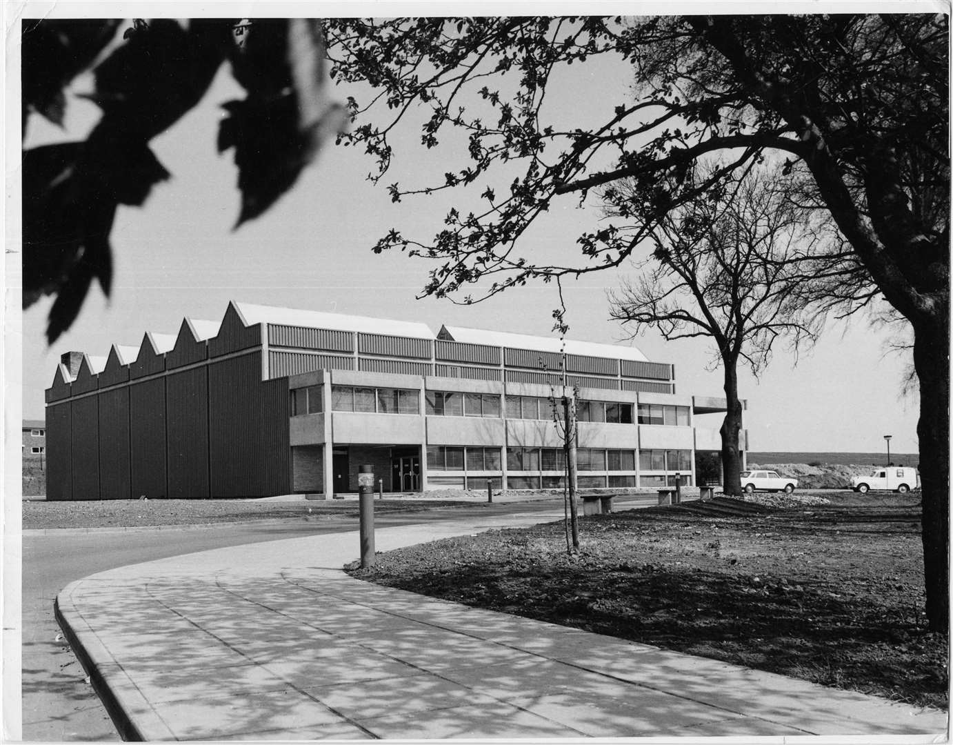 Haverhill Sports Centre (now Leisure Centre) in the 1970s Picture: Haverhill and District Local History Group
