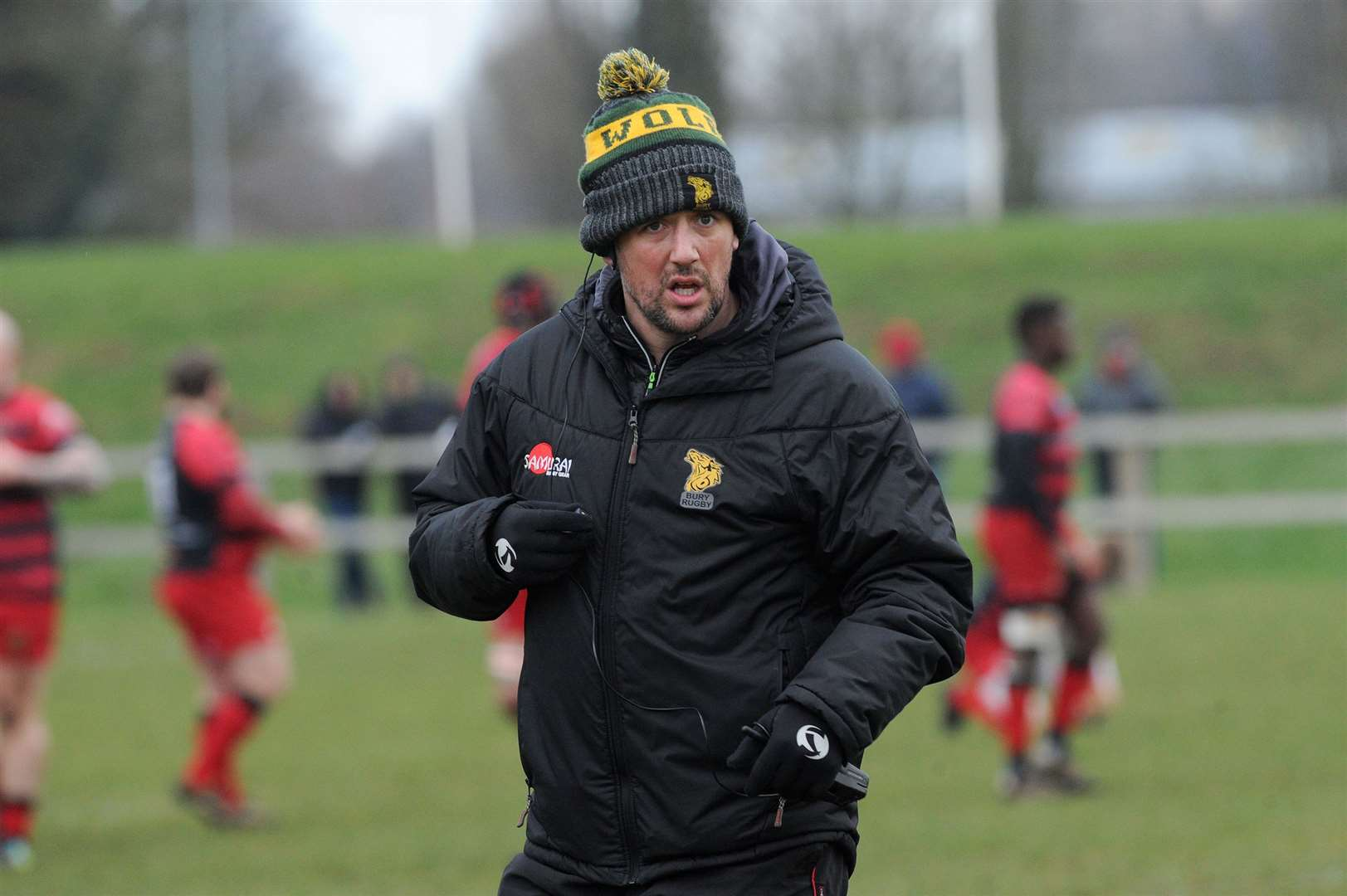 RUGBY - Bury St Edmunds v Old Redcliffians..Pictured: Head Coach Nick Wakley...PICTURE: Mecha Morton. (37687202)