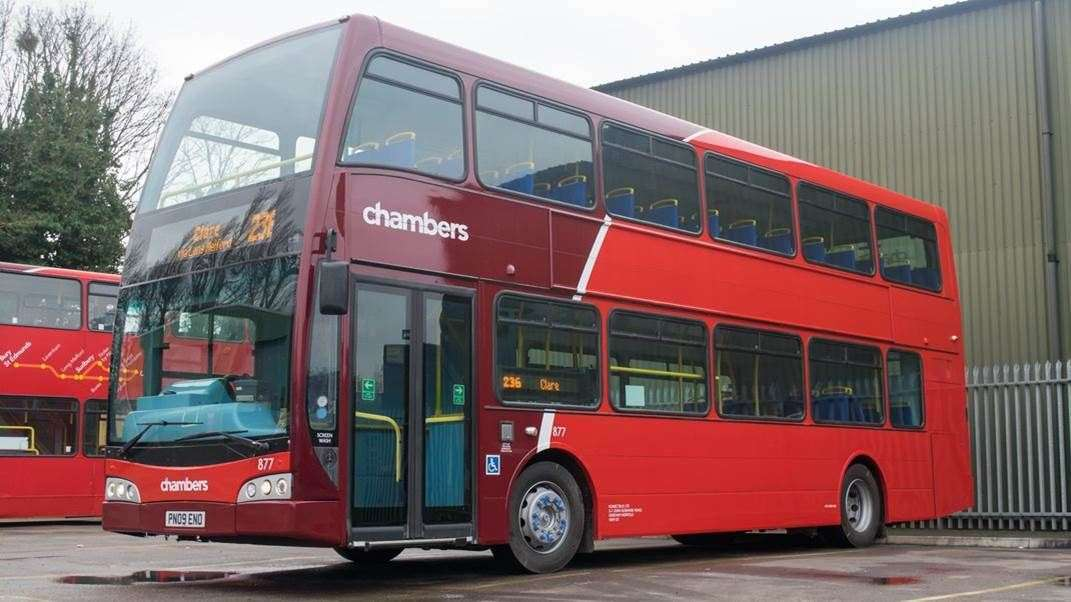 Chambers Bus has issued an emergency timetable