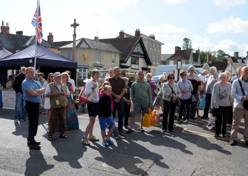 Clare, Suffolk. Clare's monthly market returns after an absence of 20 years. ''Picture: MARK BULLIMORE
