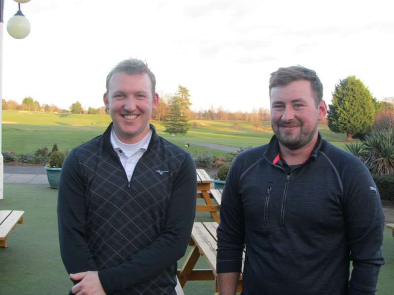 DREAM TEAM: Cousins James and Ryan Hastie won their second Suffolk Winter Alliance meeting of the season
