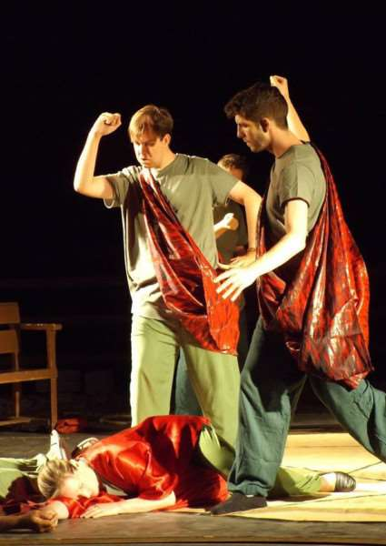 Sudbury Dramatic Society performed The Tempest in Spain. ANL-160816-163444001