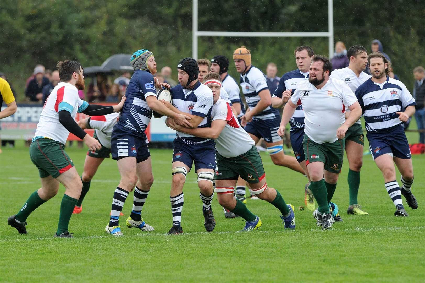 RUGBY - Sudbury v Luton..Pictured: ...PICTURE: Mecha Morton... .. (26258209)