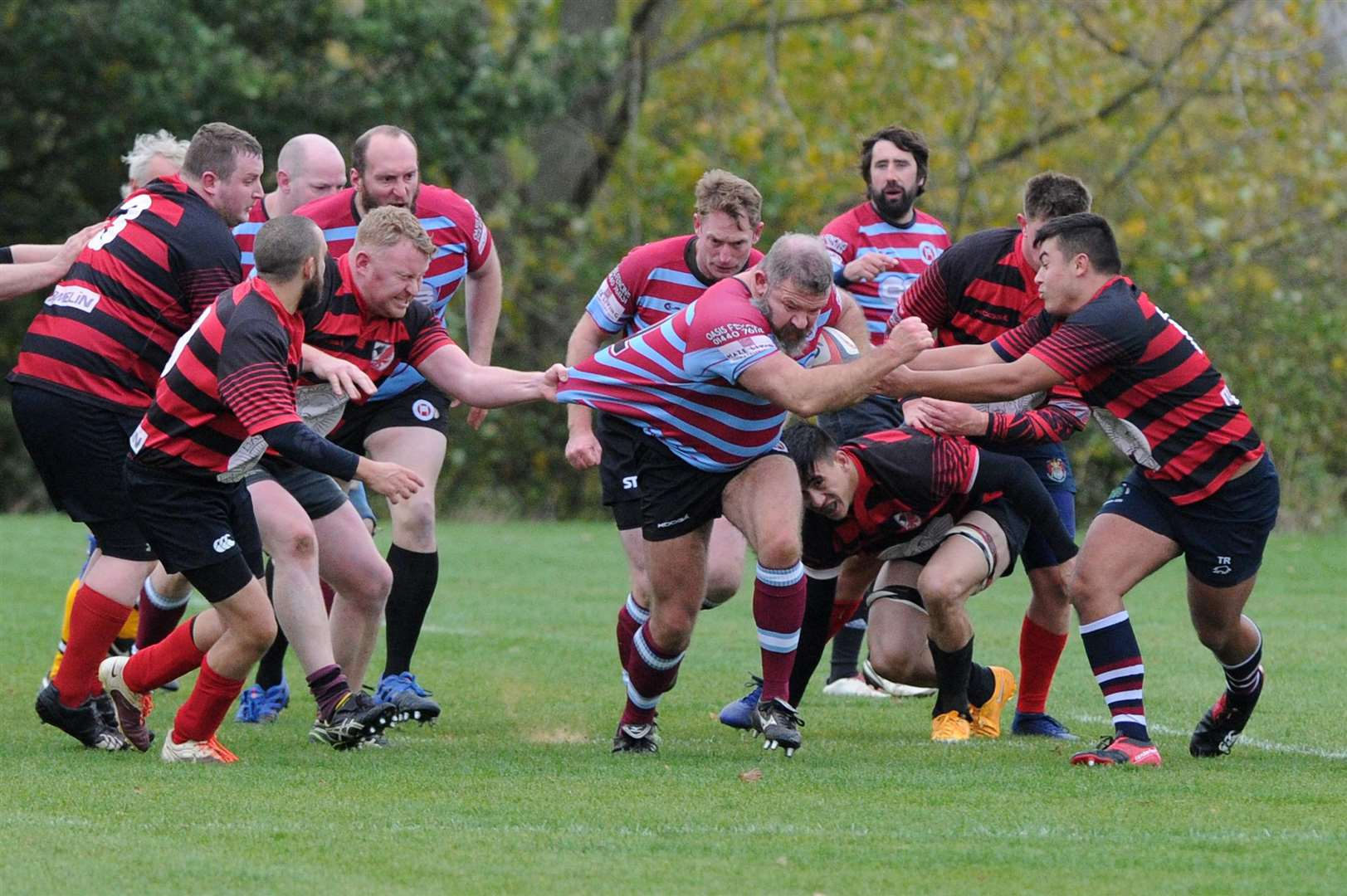 RUGBY - Haverhill v Mildenhall & Red Lodge..Pictured: Paul Bergin....PICTURE: Mecha Morton... (6402393)