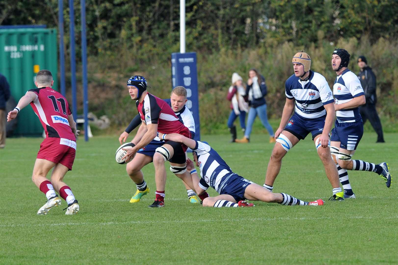 RUGBY - Sudbury v Amersham & Chiltern..Pictured: Jake Sumner...PICTURE: Mecha Morton... .. (5056977)