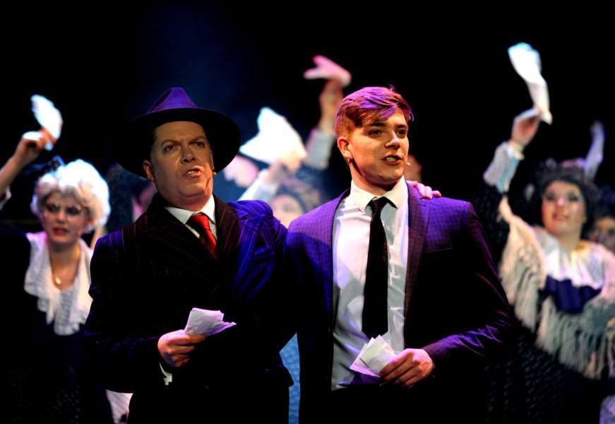 The Producers at The Theatre Royal in Bury St Edmunds Photo by Andy Abbott