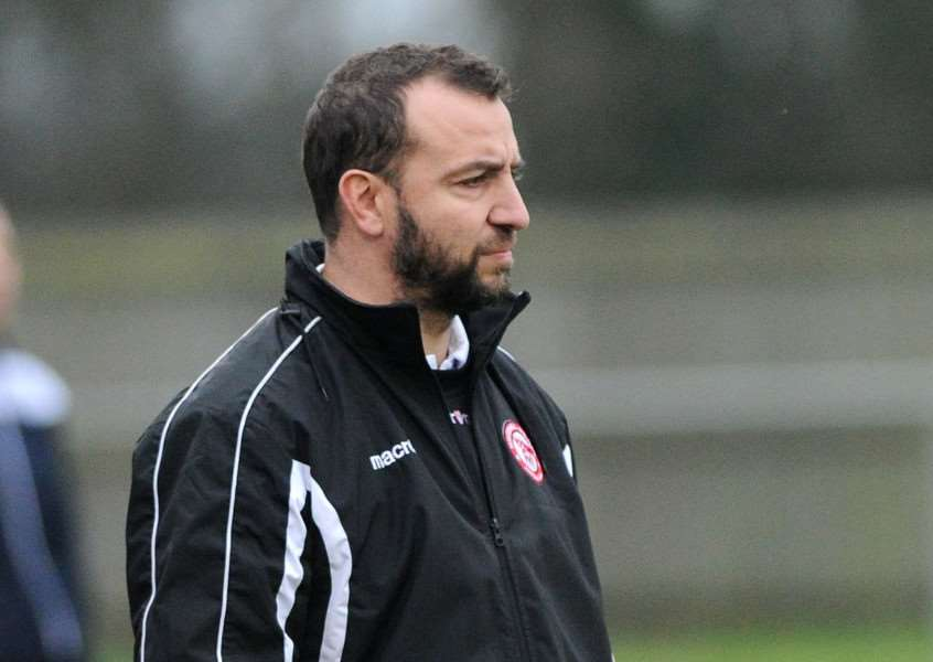 WAITING GAME: Haverhill Rovers manager Ben Cowling