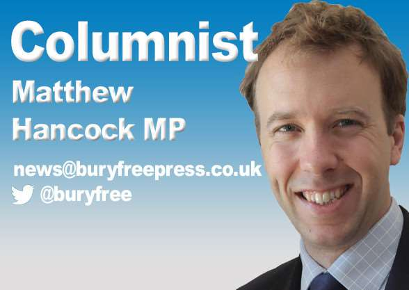 Column by Matthew Hancock MP