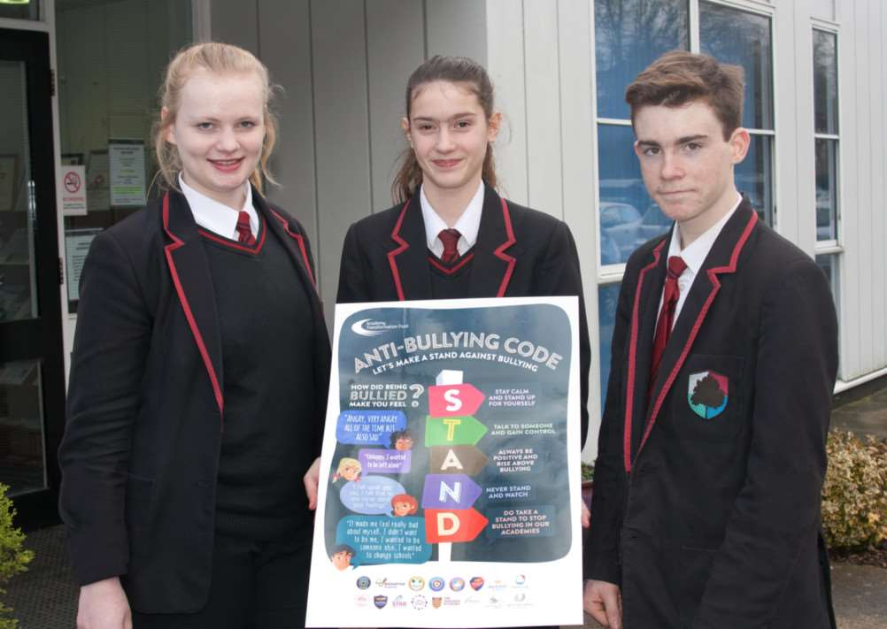Academy Transformation Trust is launching a new anti-bullying code in its academies, formulated by students at Mildenhall College Academy. ANL-150203-095435001