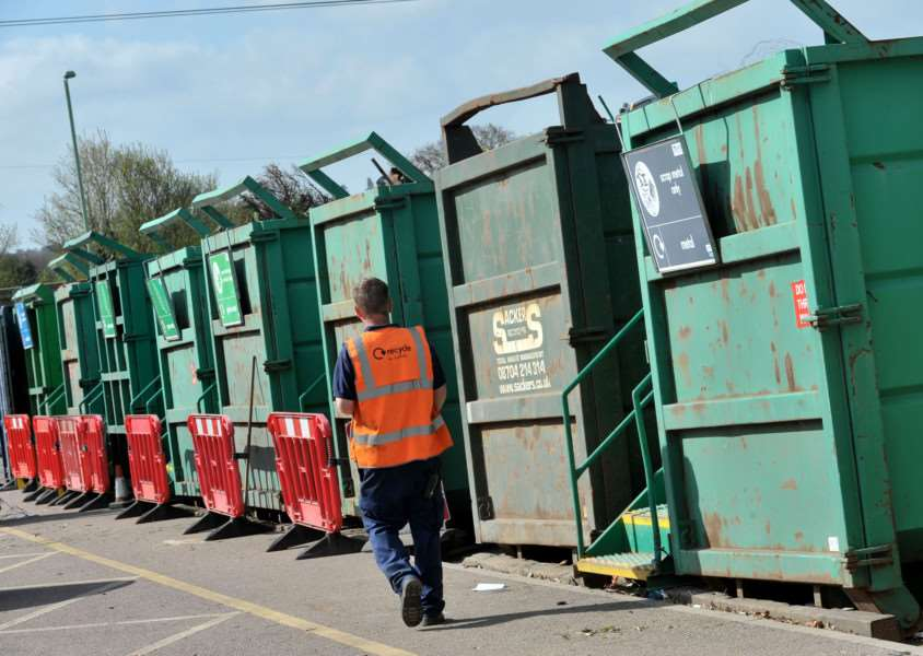 Bury's Household Waste Recycling Centre