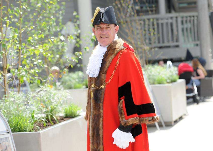 Cllr Terry Clements, current mayor of St Edmundsbury. Picture: Mecha Morton.