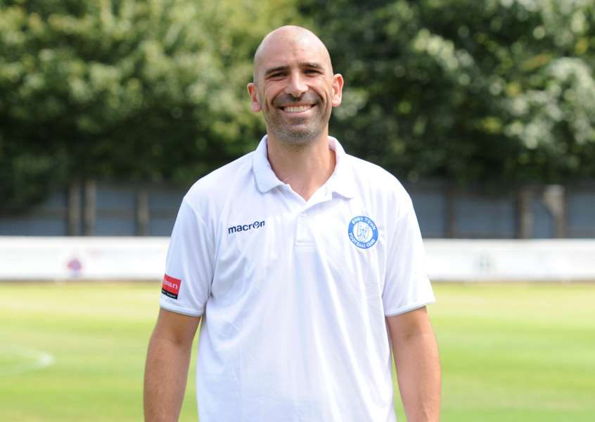 BURY TOWN FC profile shots''Pictured: Ben Chenery - Manager ANL-160814-233724009