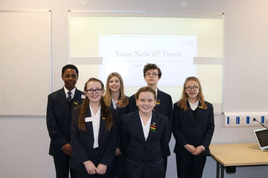 Pupils from Sybil Andrews Academy have been thinking about names for the new sixth form college in Bury St Edmunds