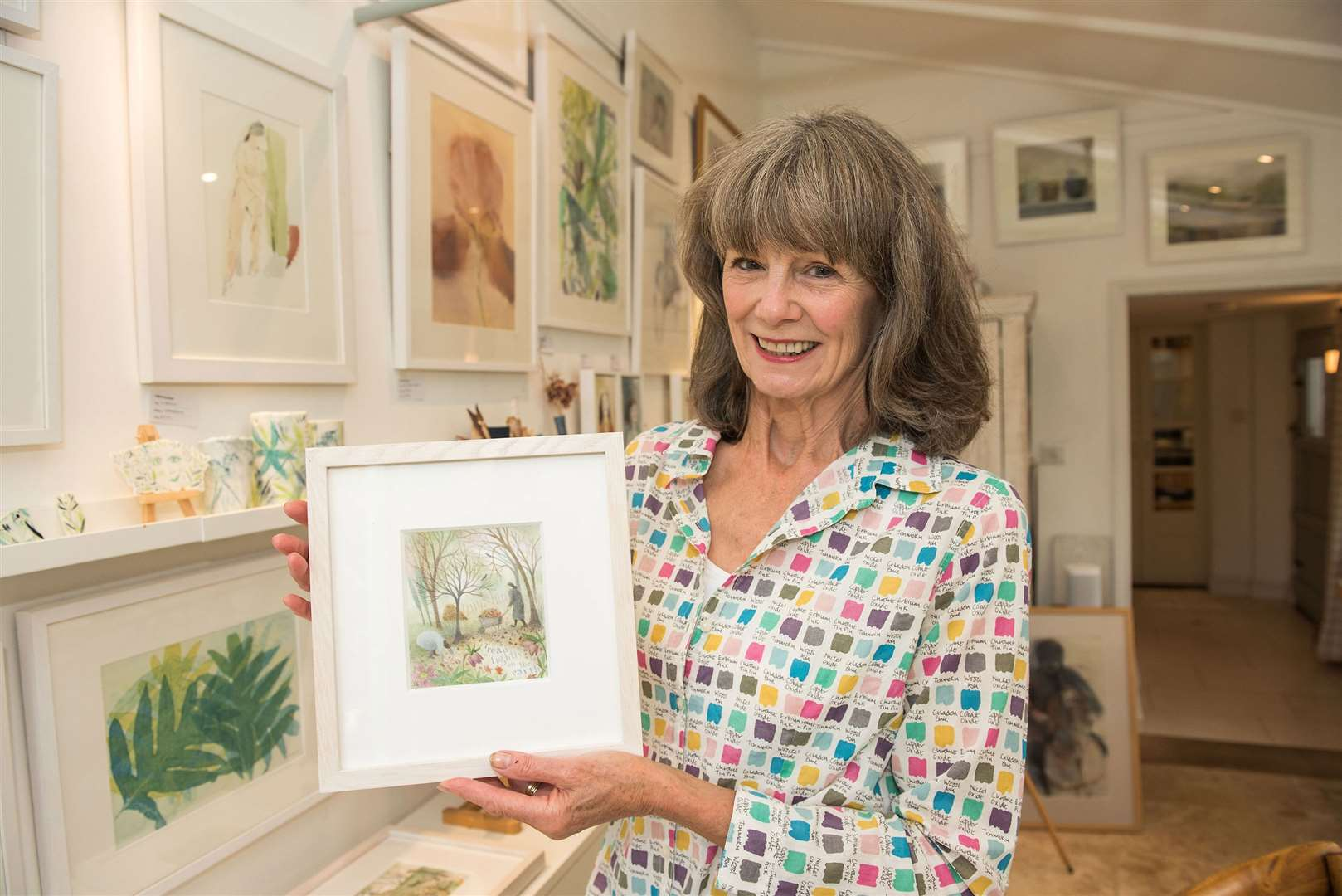 Sudbury-Illustrator Judith Glover is taking part in an upcoming open studio event. She will be showcasing her work. Friars Street, Sudbury. Picture by Mark Westley (42290155)