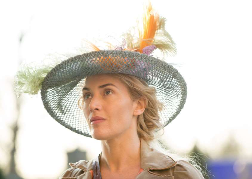 Kate Winslet as Sabine De Barra in A Little Chao. Picture: PA Photo/Alex Bailey/Lionsgate. ANL-150424-153945001