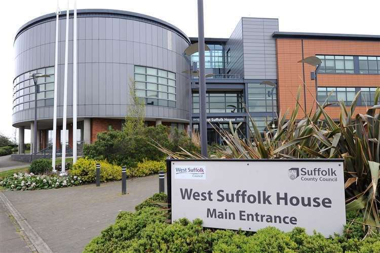 West Suffolk House, in Bury St Edmunds, where West Suffolk Council is based.