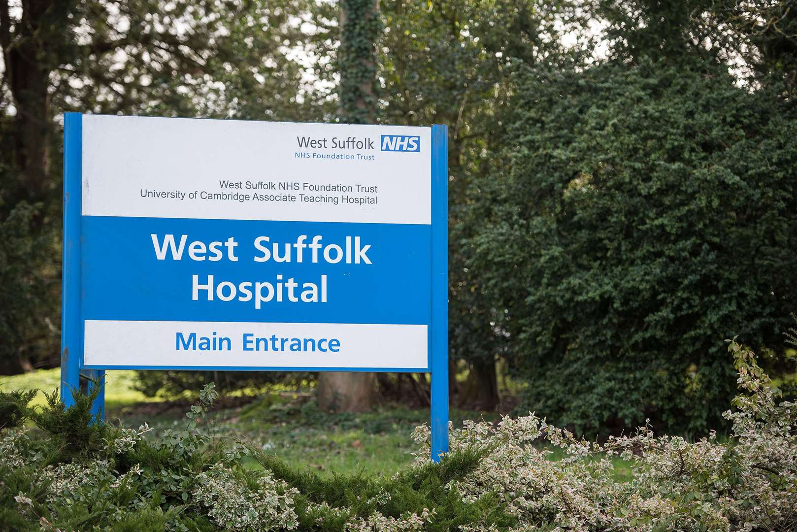 West Suffolk Hospital in Bury St Edmunds. Picture by Mark Westley