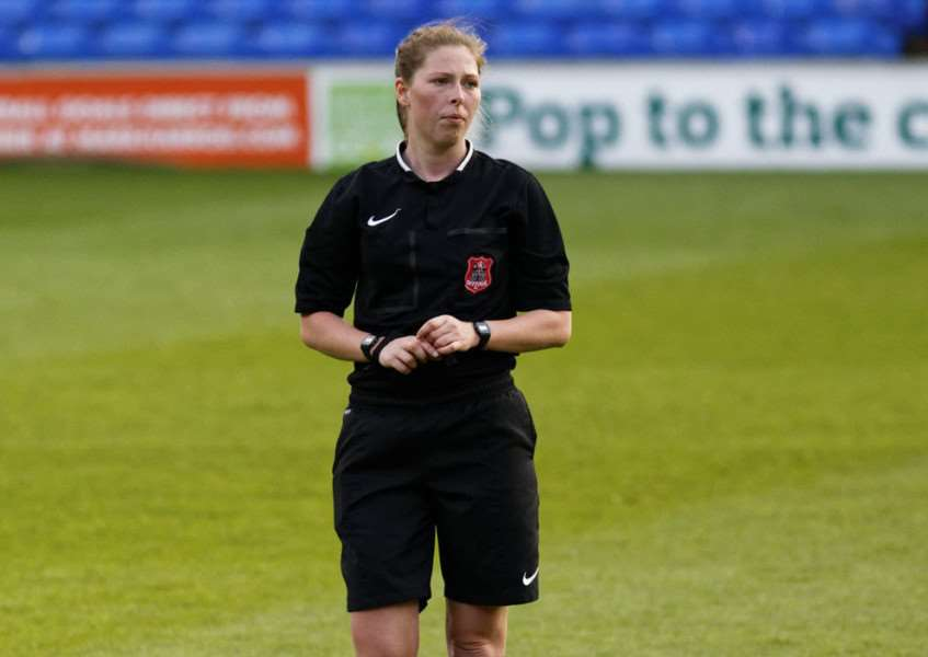 FA CUP OUTING: Abi Marriott