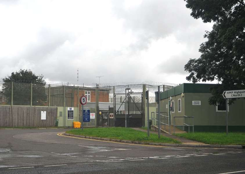 HMP Highpoint Prison, off the A143 near Stradishall. ENGANL00120120808123834