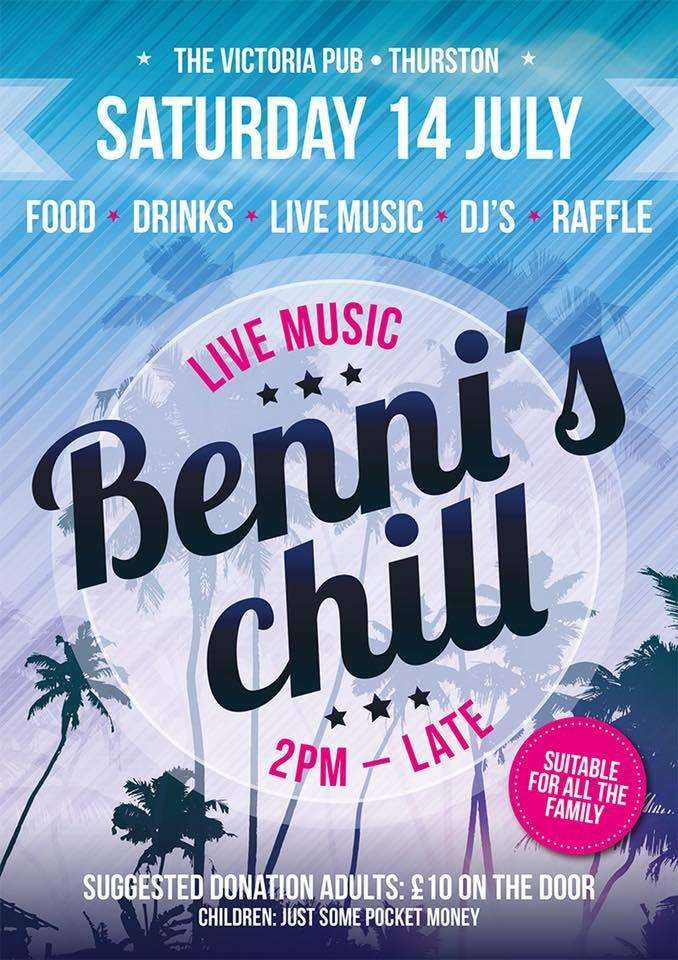 Benni's Chill poster for 2018 event (2905453)