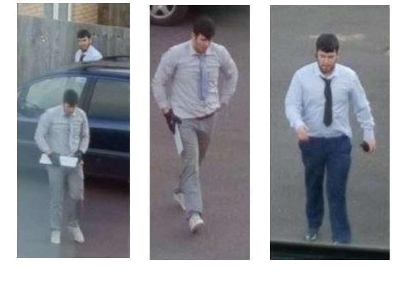 Men police want to question in connection with a van robbery in Market Place, Mildenhall, on Friday March 10