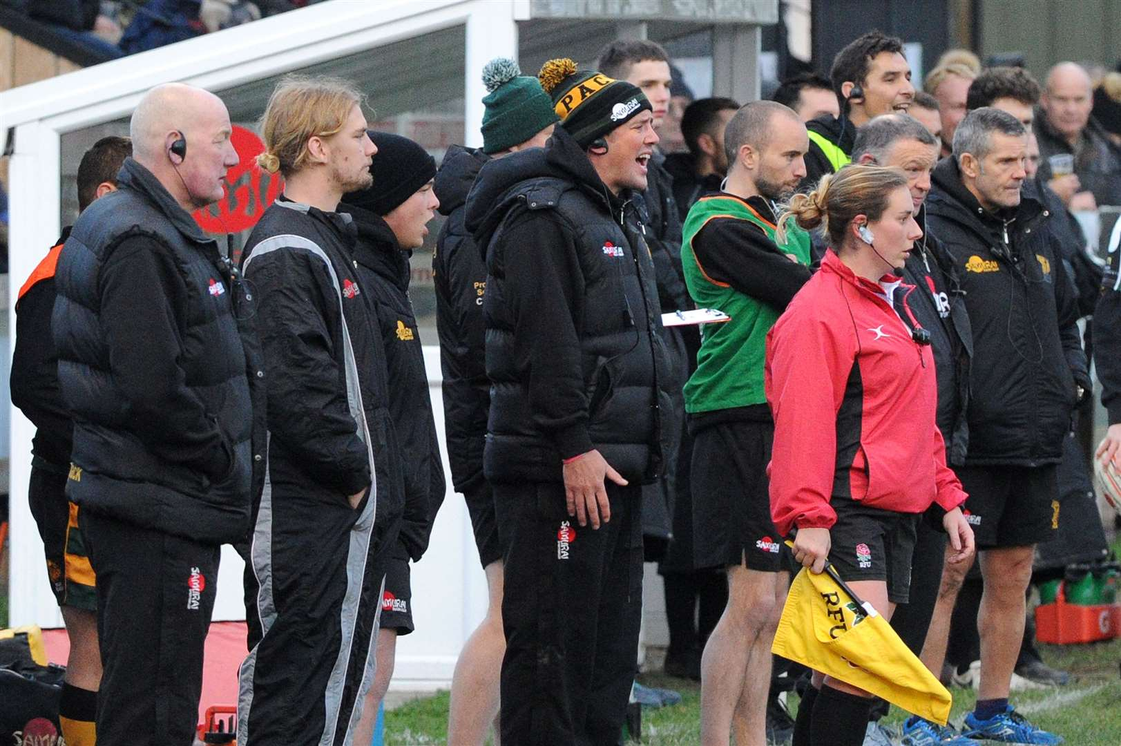RUGBY -Bury St Edmunds v Clifton..Pictured: Head Coach Nick Wakley...PICTURE: Mecha Morton. (37687227)