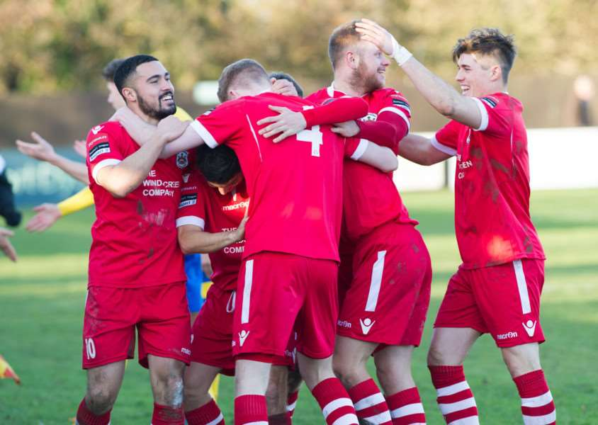 NEW SPONSOR: Needham Market will be playing in the Bostik Premier next season