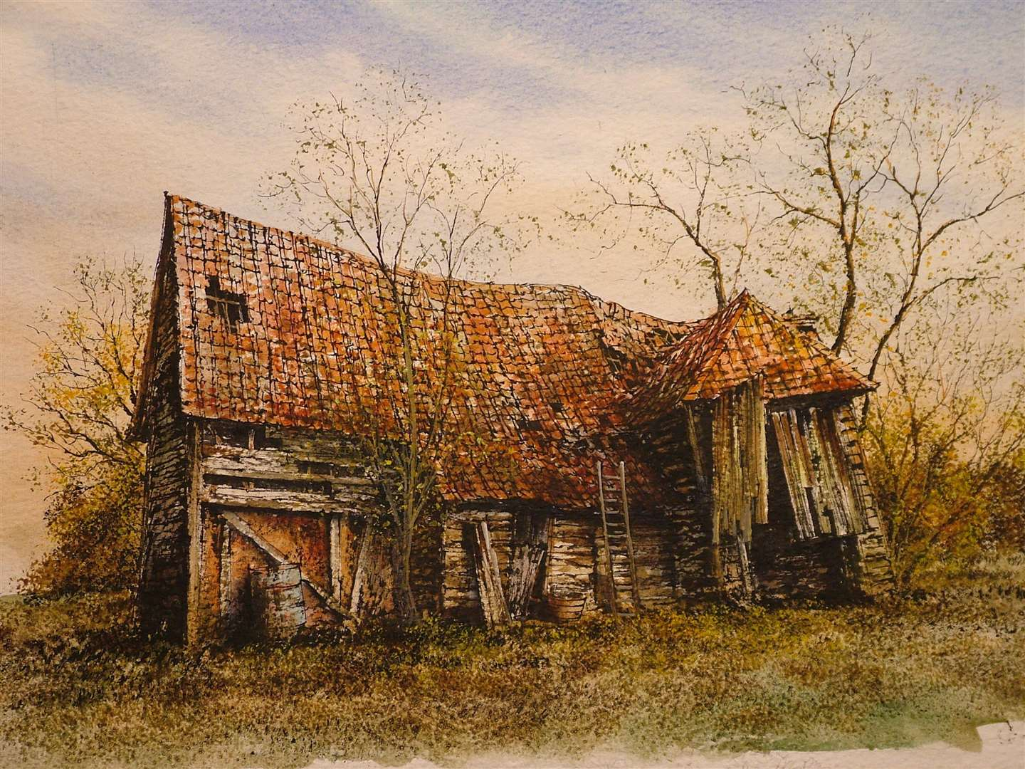 Suffolk Art Society - painting by Reg Siger (13823188)