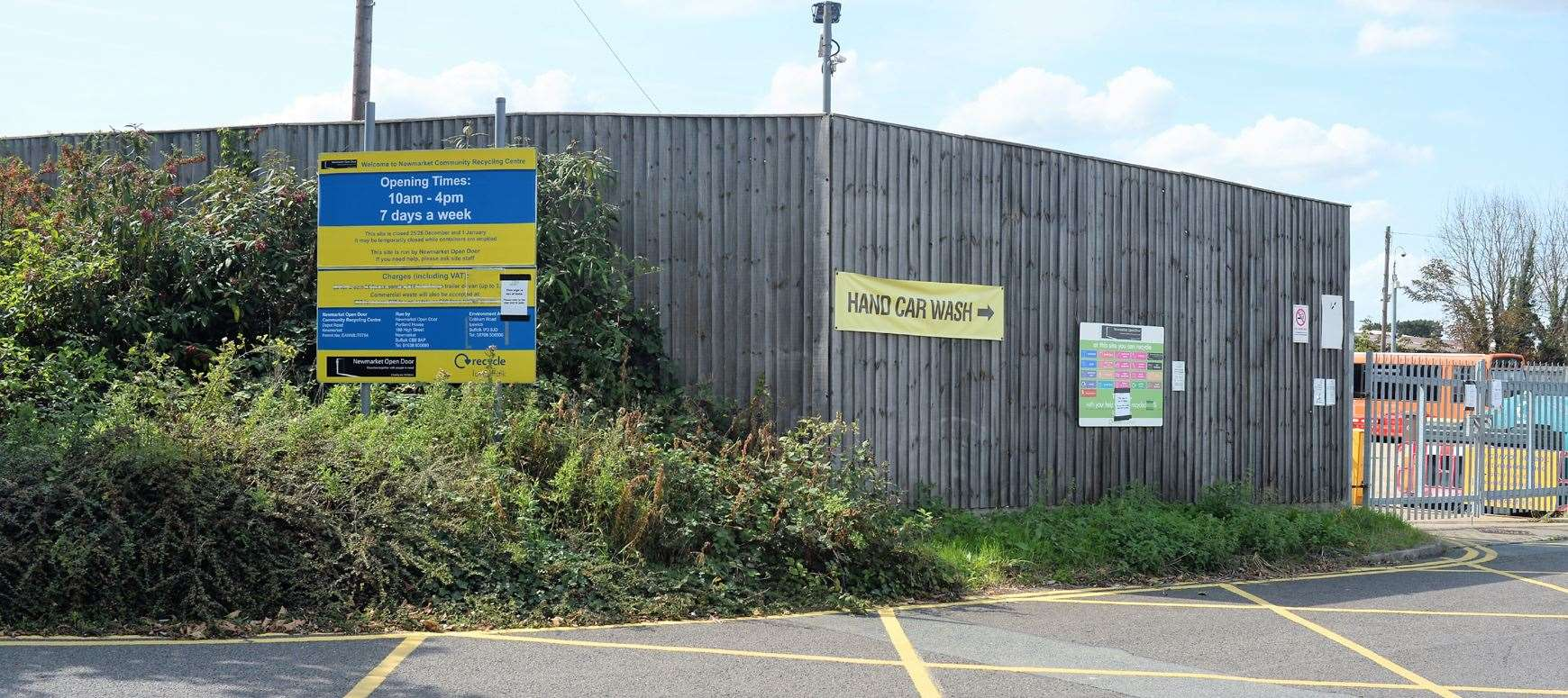 Newmarket Open Door's waste recycling centre closed down