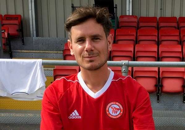 NEW DAWN: New Haverhill Rovers manager Marc Abbott