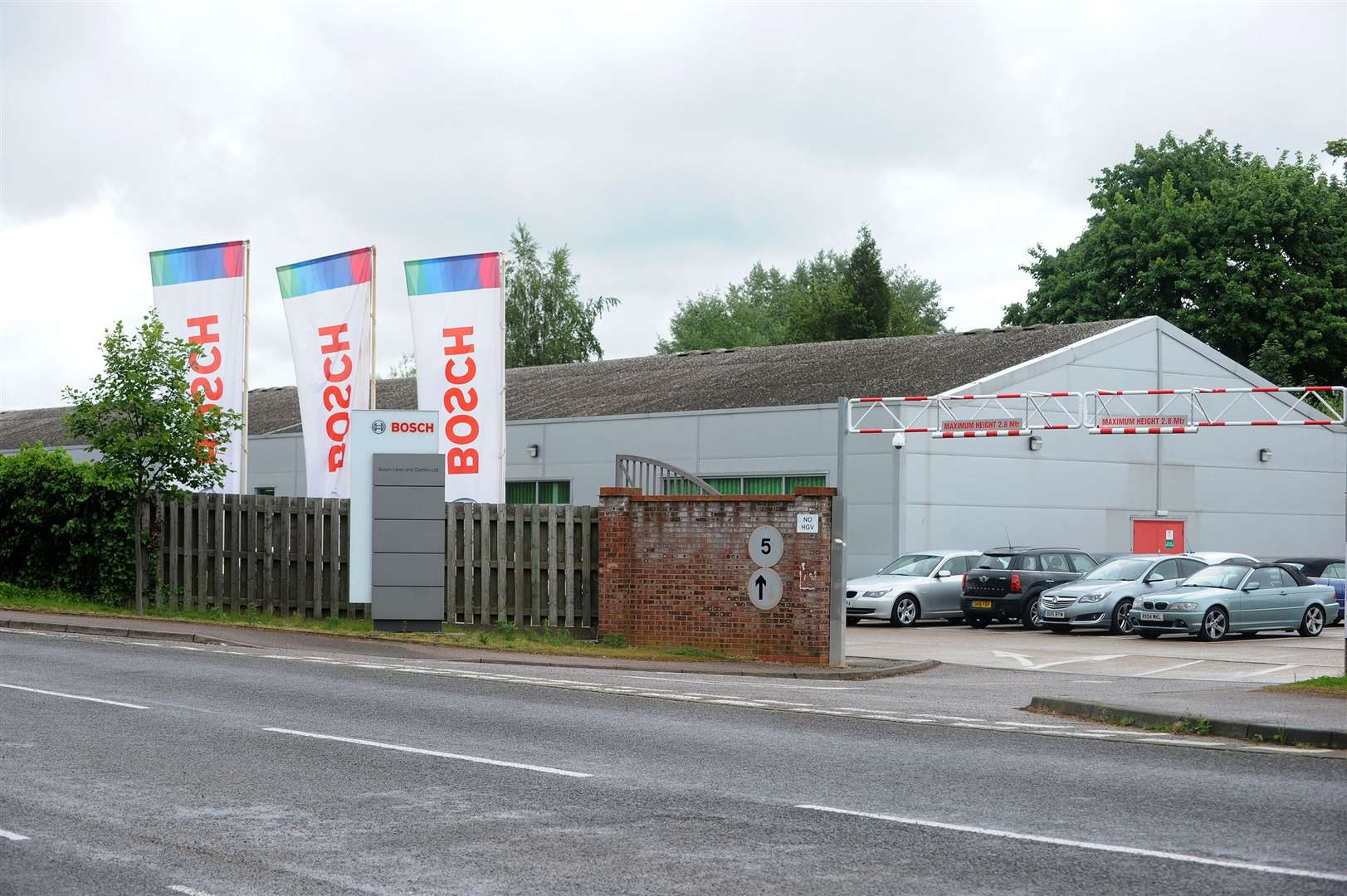 Bosch Factory in Stowmarket may be facing job losses...PICTURE: Mecha Morton... (11324247)
