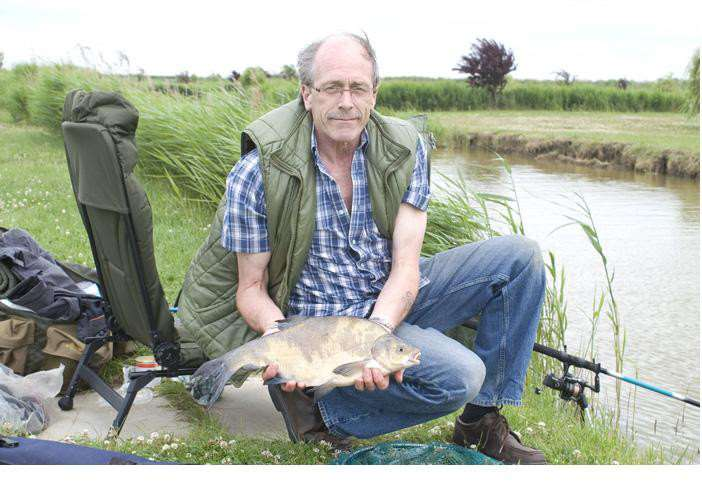 With help from disability angling charity Reels on Wheels, Steve Double is able to continue with his favourite hobby despite suffering from early onset Alzheimers ANL-150630-094502001