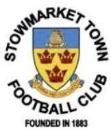 Stowmarket Town badge (19290100)