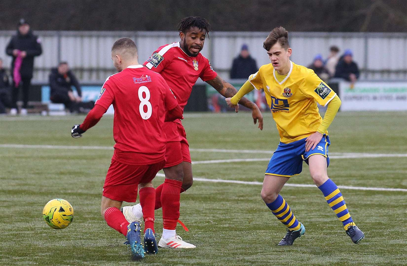 AFC Sudbury v Aveley - Tom Dettmer.Pic - Richard Marsham. (6333194)