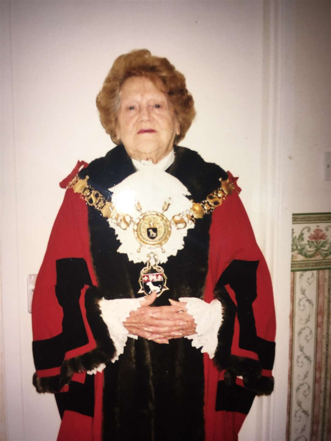 Former Sudbury Town Mayor Valerie Moulton has died at the age of 90. (6257262)