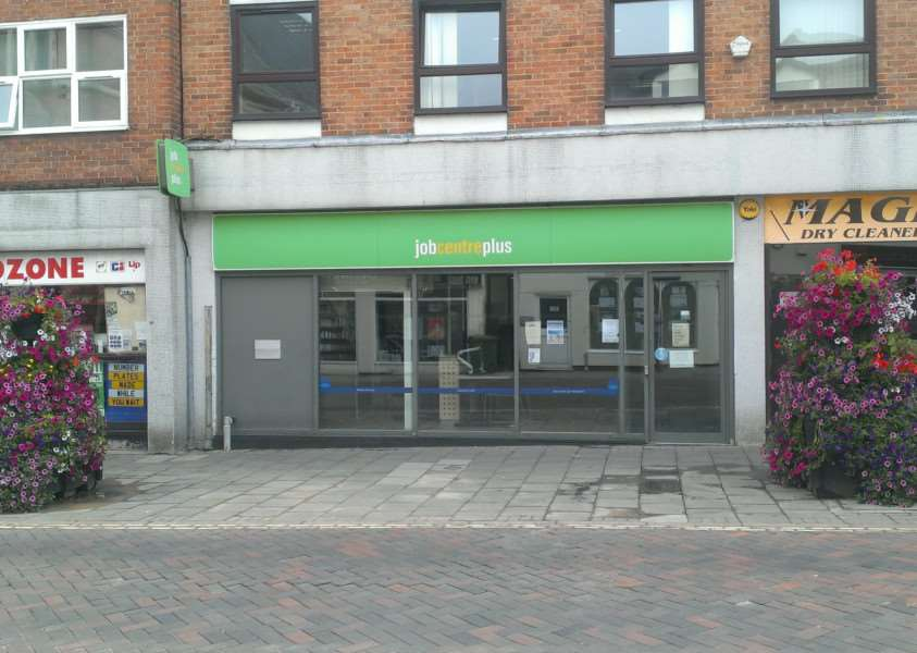 The Jobcentreplus in Haverhill High Street