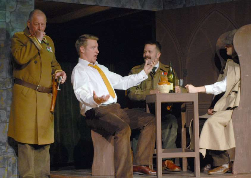 The Prisoner of Zenda was performed by Suffolk Summer Theatres