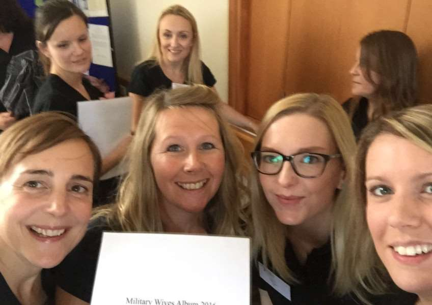 Wives of military personnel at Wattisham are featured in the latest Military Wives Choirs album, Home for Christmas, which is being released this week